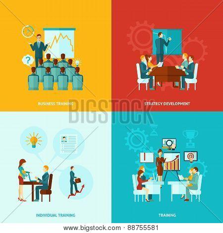 Business Training Flat