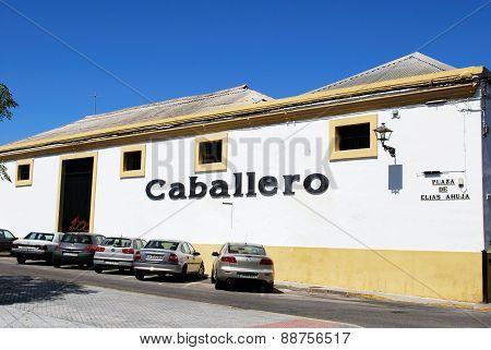 Caballero Bodega, El Puerto de Santa Maria.