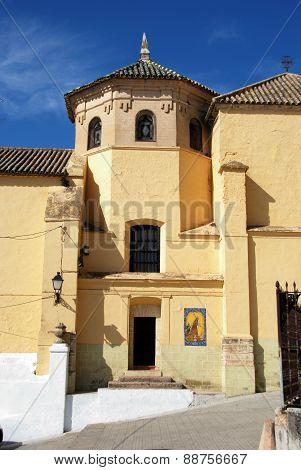 Soterrano church, Aguilar de la Frontera.
