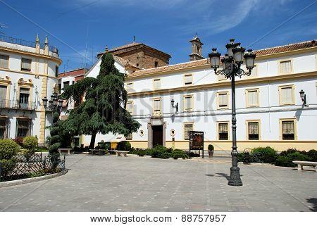 Town square, Priego de Cordoba.