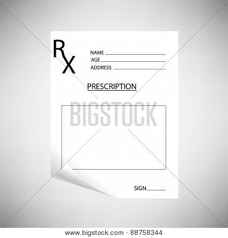 Blank Prescription