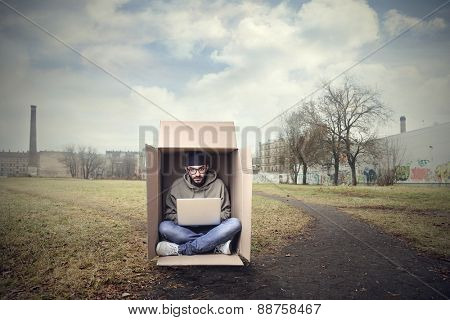 Working in the box