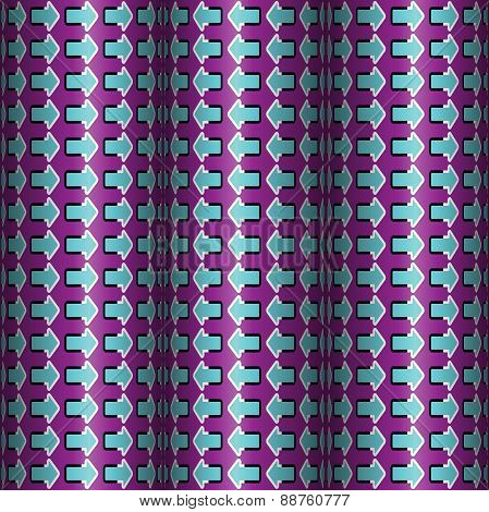 Rotating Rollers With Arrows, Optical Illusion, Vector Seamless
