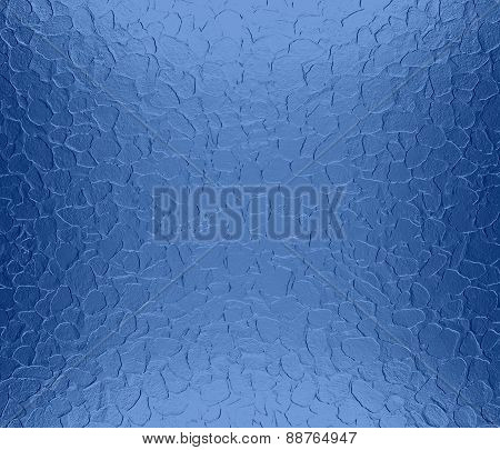 dazzled blue metallic metal texture background