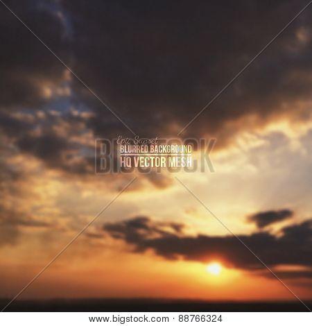 Vector Blurred Background