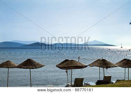 beach on the Aegean Sea