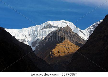 Trekking To Annapurna Base Camp, Himalaya Mountains - Nepal