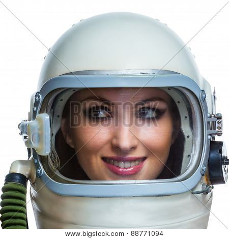 Beauty astronaut