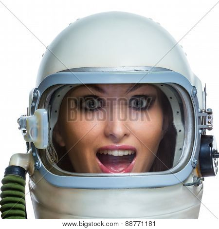 Bizarre astronaut