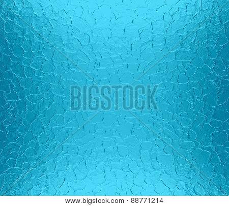 Blue-green metallic metal texture background