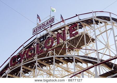 New York City Landmark, iconische Cyclone
