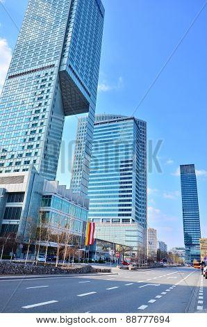 Warsaw downtown, Poland