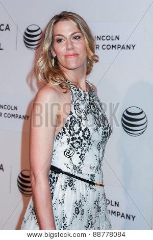 NEW YORK, NY - APRIL 22: Actress Rachel Whitman Groves attends the 2015 Tribeca Film Festival world premiere narrative: 'Maggie' at BMCC Tribeca PAC on April 22, 2015 in New York City.