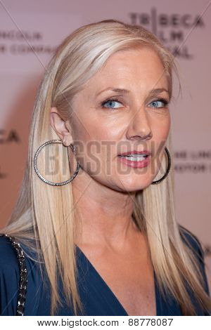 NEW YORK, NY - APRIL 22: Actress Joely Richardson attends the 2015 Tribeca Film Festival world premiere narrative: 'Maggie' at BMCC Tribeca PAC on April 22, 2015 in New York City