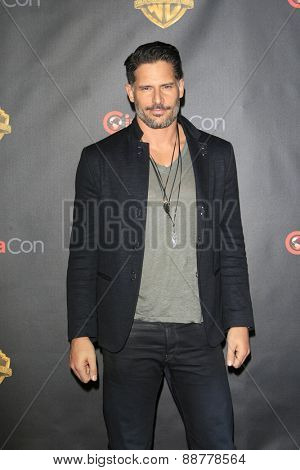 LAS VEGAS - APR 21: Joe Manganiello at the Warner Bros. Pictures Exclusive Presentation Highlighting the Summer of 2015 and Beyond at Caesars Pallace on April 21, 2015 in Las Vegas, NV