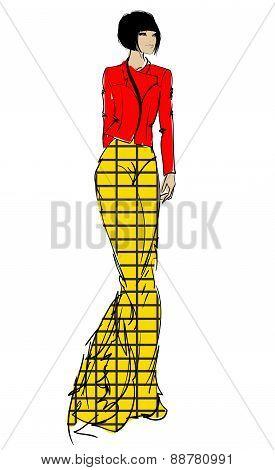 SKETCH. fashion models