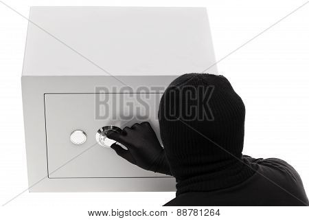 Thief Opening Safe