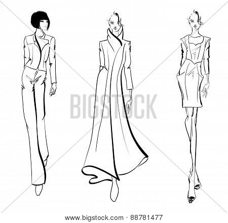 SKETCH. fashion models