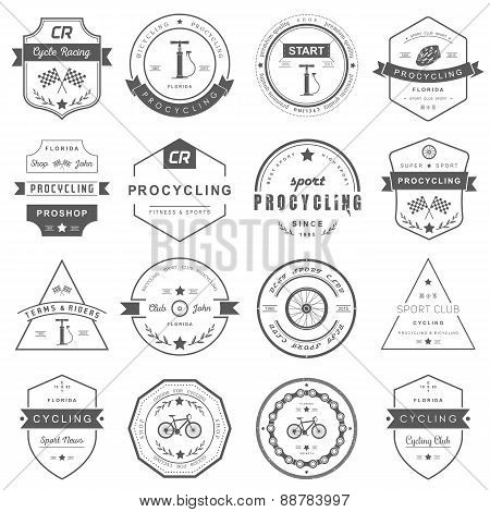 Set Badges Cycling