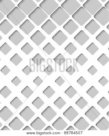 Abstract Paper Lattice, Vector Seamless Pattern