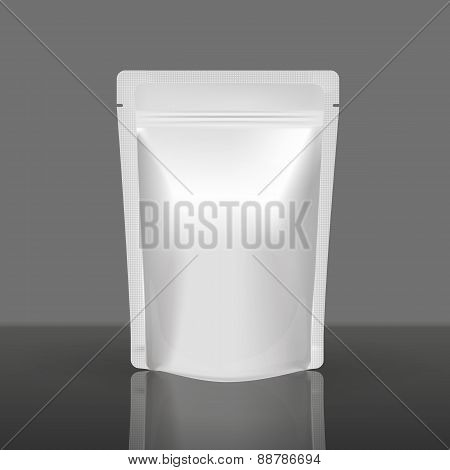 Mockup Blank Foil Food Or Drink