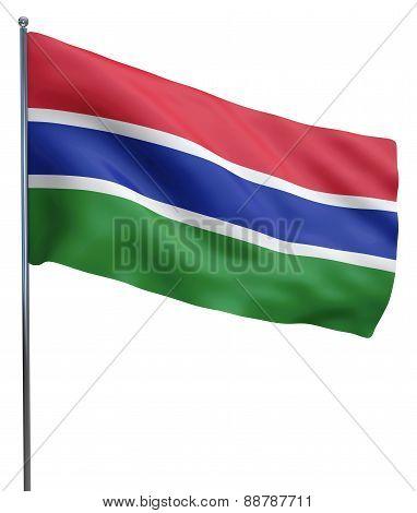 Gambia Flag Image