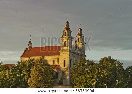 St. Raphael the Archangel Church in Vilnius, Lithuania