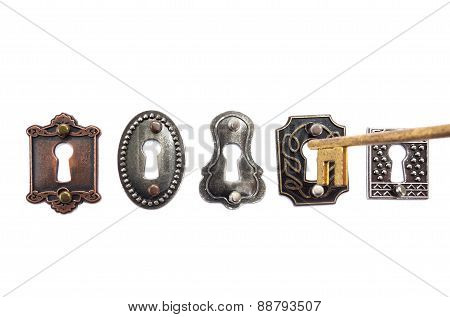 Old Fashioned Locks