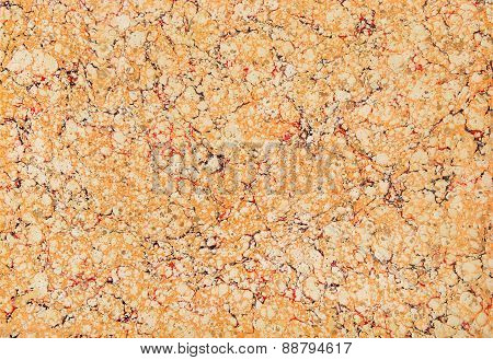 Brown And Red Marble Paper Texture