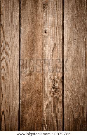 Dark Wood Fence Background
