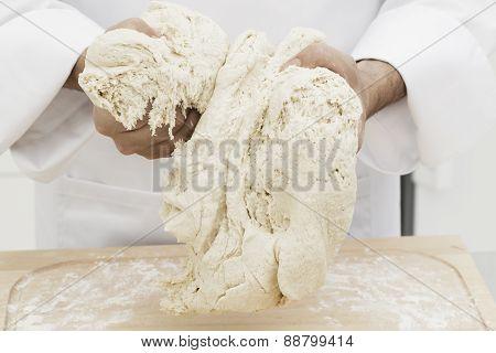 Holding Dough