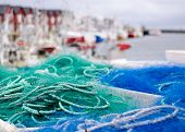 Постер, плакат: Fishing harbour Andenes