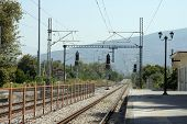 picture of electric station  - Old railroad station - JPG