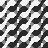 picture of interlocking  - Seamless geometric background - JPG