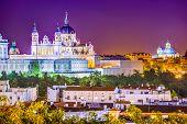 stock photo of royal palace  - Madrid - JPG