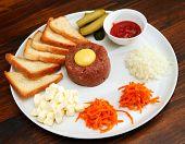 picture of tartar  - meat tartar - JPG