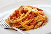 picture of guanciale  - amatriciana - JPG