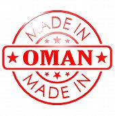 image of oman  - Made in Oman red seal image with hi - JPG