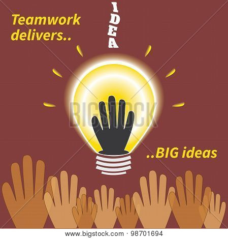 Teamwork Delivers Big Ideas