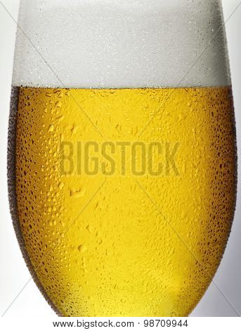 Detail Glass Of Beer