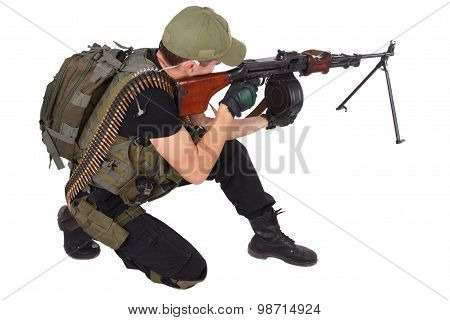 Mercenary With Rpg Gun