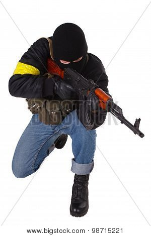 Gunman With Ak 47