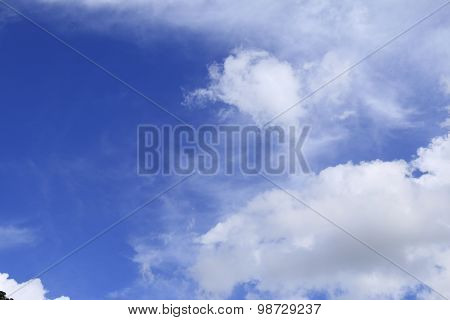 BlueSky with clouds
