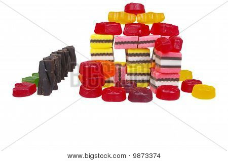 Jelly Lollies Licorice