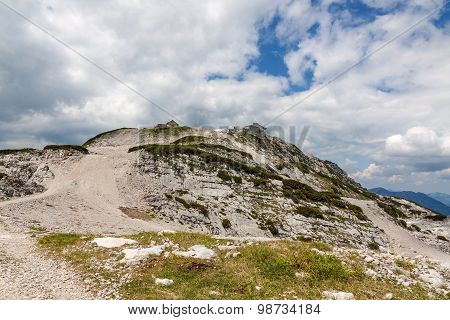 Dachstein Mountains Landscape