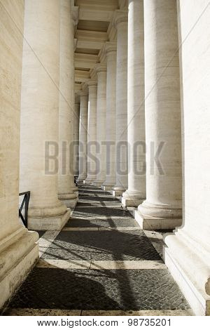 St Peter's Colonnade