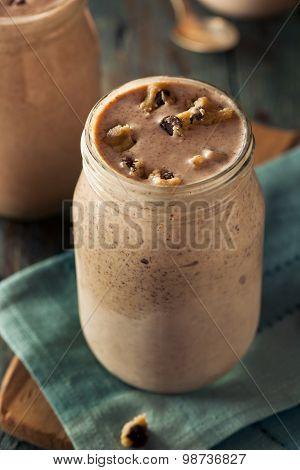 Homemade Cookie Dough Milkshake