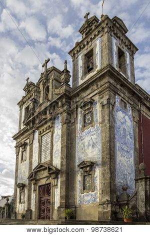 Church Of Saint Ildefonso - Igreja De Santo Ildefonso, A 18Th Century Building In Baroque Style