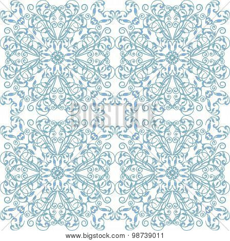 Abstract vintage geometric  pattern seamless background. Vector illustration