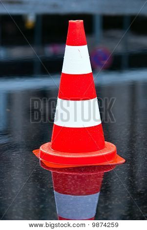 Cone In A Puddle V1